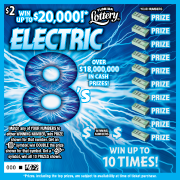 7016-ELECTRIC 8s Scratch-Off Ticket